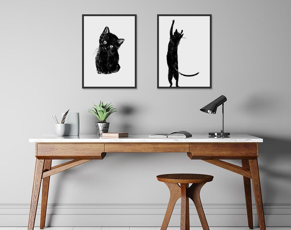 Minimalistyczne plakaty do domu