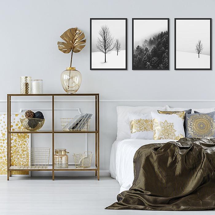 galeria-Las-w-sypialni-zimowe-drzewa-decor-mint