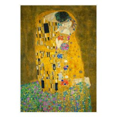 klimt-pocalunek-plakat-reprodukcja-dekoracja-scienna