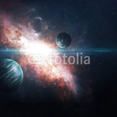 planety-gwiazdy-kosmos-fototapeta
