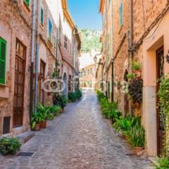 Stara górska wioska Valldemossa Majorca Hiszpania