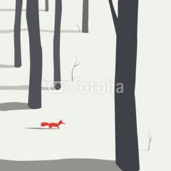 wiewiórka-w-lesie-zimą