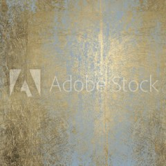 stylowa-dekoracja-złota-ściana-z-szarymi-pionowymi-przetarciami-fototapeta