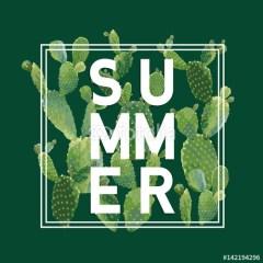 napis-lato-na-roślinnym-tle
