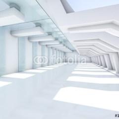 bialy-korytarz-3d-fototapeta