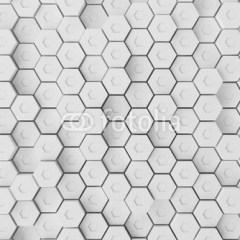 heksagonalna-fototapeta-3d