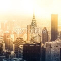 wschód-słońca-w-nowym-jorku-fototapeta-na-ścianę