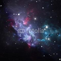 mglawica-gwiazdy-niebo-noca-fototapeta-do-pokoju-chlopca