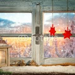 dekoracje-okna-na-boże-narodzenie