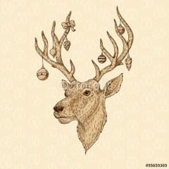 święta-jeleń-dekoracje-na-choinkę
