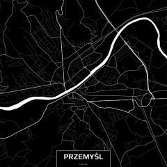 mapa-przemyśla-czarno-biała