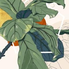 Kolekcja-inspiredspace-decormint-rośliny-kroton-plakat-na-ścianę