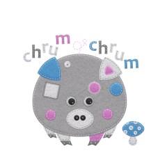 filcowe-zwierzątka-świnka