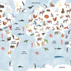 mapa-swiata-ze-zwierzetami-dla-dzieci