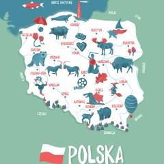 ilustrowana-mapa-polski-dla-dzieci-pokoj-dla-rodzenstwa