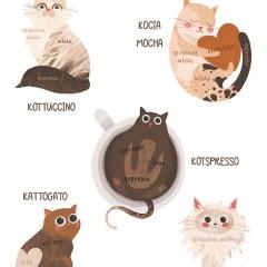 jak-zrobić-kawę-ilustracje-z-kotami-magnesy-na-lodówkę