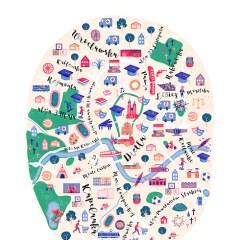 plan-miasta-krakowa-kolorowa-ilustracja-dekoracja-scienna