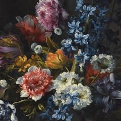 dekoracja-scienna-duze-kwiaty-fototapeta-do-duzego-mieszkania