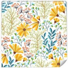 tapeta-kwiaty-pokoj-dzieciecy
