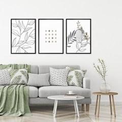 minimalizm-abstrakcja-zestaw-3-obrazow