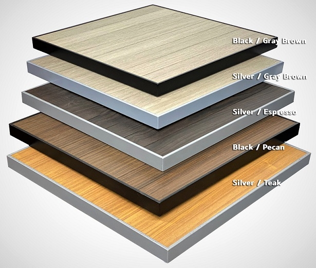 02 t 75 aluminum teak outdoor aluminum patio table tops