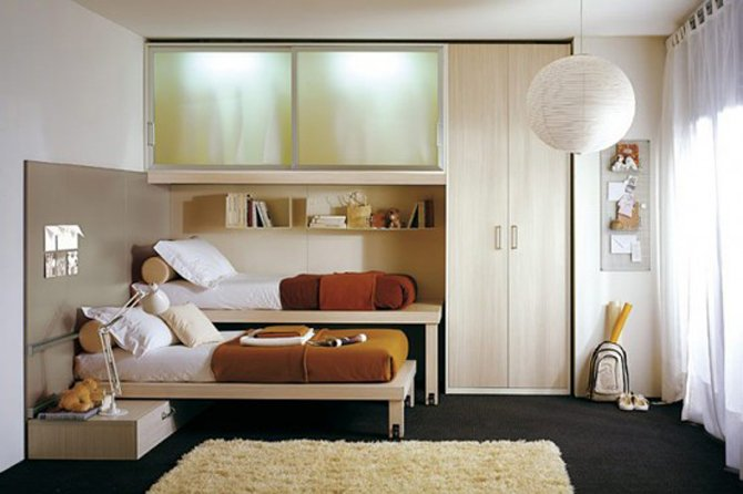 Small Apartment Decorating and Interior Design Ideas on Bedroom Ideas For Small Spaces  id=89304