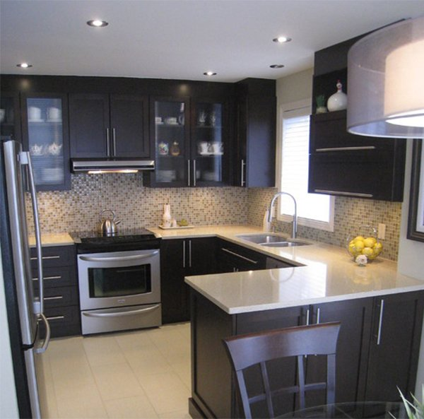 Very small kitchen design ideas that looks bigger and modern on Modern Kitchen Remodel  id=39242