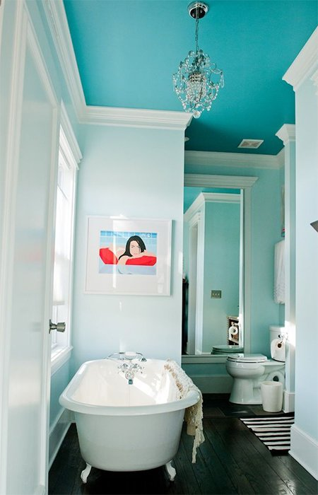 totally blue cute bathroom
