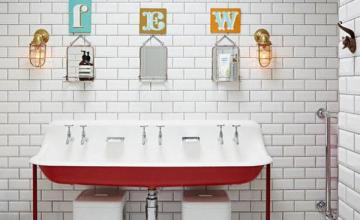 vintage bathroom creative decoration ideas