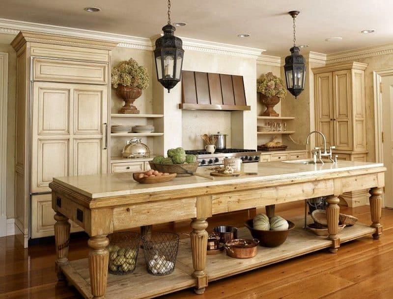 27 Rustic Kitchen Designs   Décor Outline on Rustic Farmhouse Kitchen Ideas  id=13840