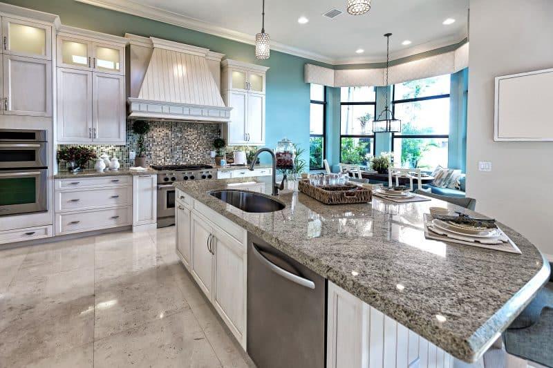 L Kitchen Island Layout
