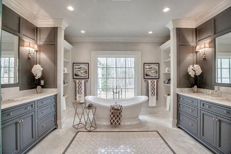 27 PHOTOS Of Master Bathroom Designs Many Styles Amp Budgets