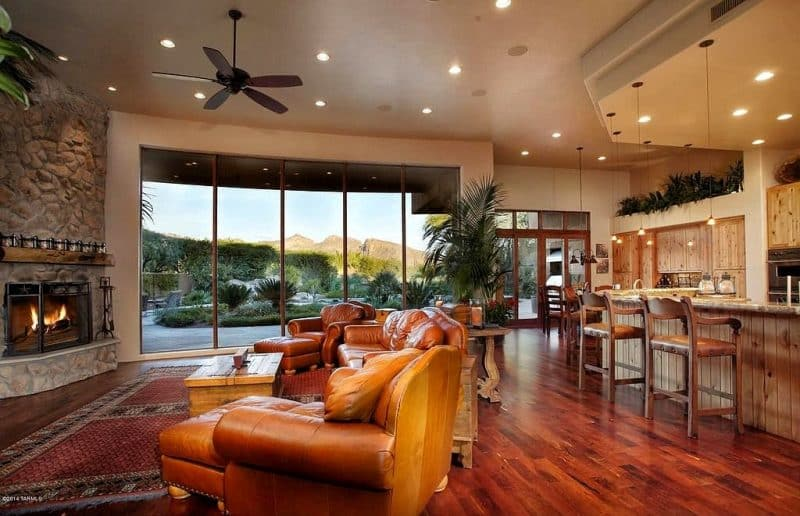 Open Concept Living Room Designs
