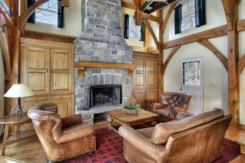 27 Living Room Designs With Fireplaces D 233 Cor Outline
