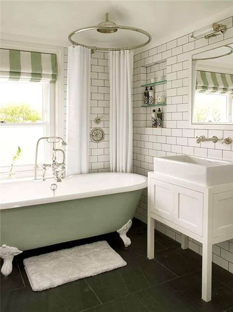 27 Bathrooms With Claw Foot Tubs D 233 Cor Outline