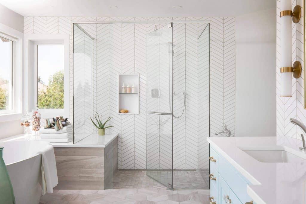 44 modern shower tile ideas and designs