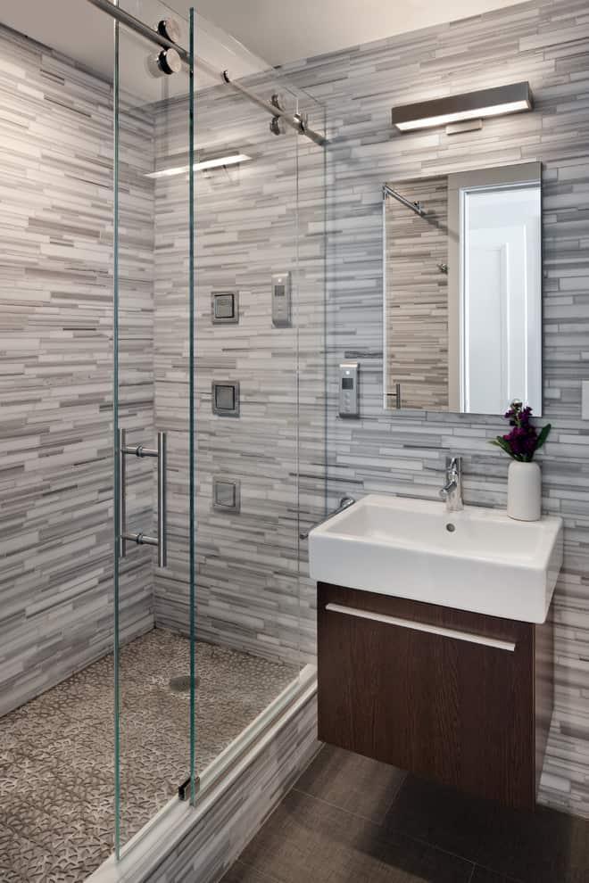 50+ Best Small Bathroom Ideas - Bathroom Designs for Small ... on Bathroom Designs For Small Spaces  id=29293