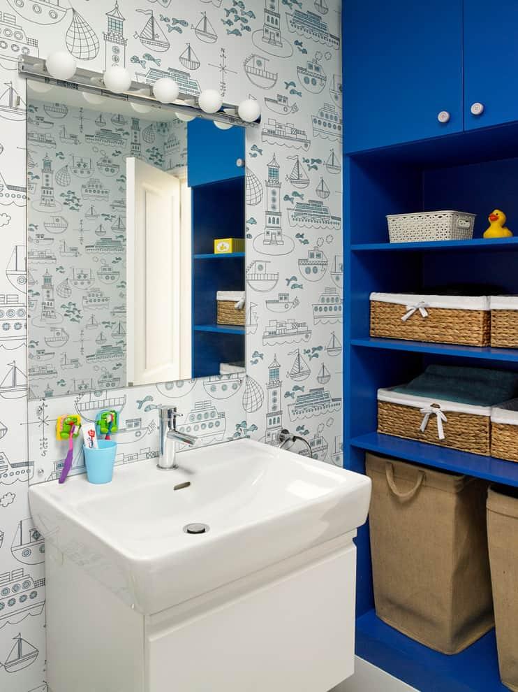 100+ Kid's Bathroom Ideas, Themes, and Accessories (Photos) on Fun Bathroom Ideas  id=60462