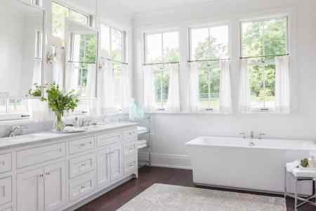 Tips   Ideas for Choosing Bathroom Window Curtains  WITH PHOTOS   How to Choose the Best Bathroom Window Curtains  written by Blake Lockwood  December 16  2016  Bathroom Window Curtains