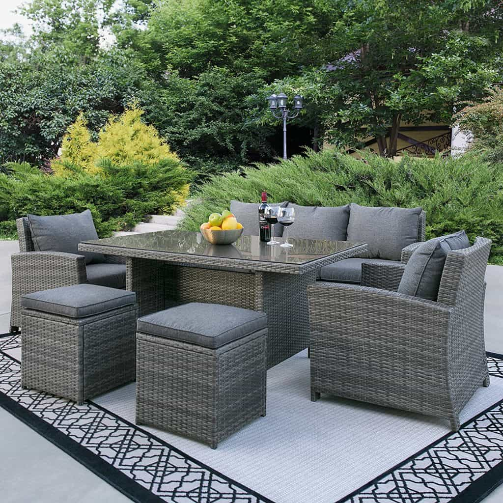 50 Ideas for Choosing the Best Outdoor Wicker Furniture ... on Outdoor Living Wicker  id=89000