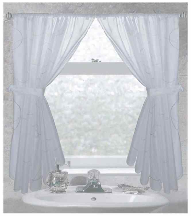 Curtain For Bathroom Shower Window
