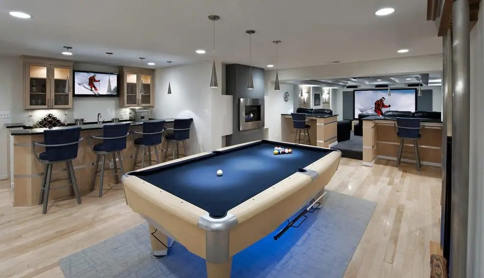 14 cool unfinished basement ideas for