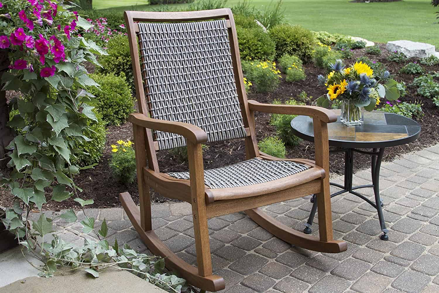 27 ideas for outdoor rocking chairs