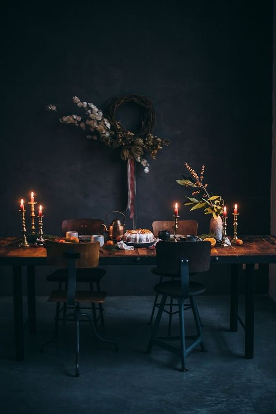 Dark Moody Interiors Perfect For Fall Decor To Adore