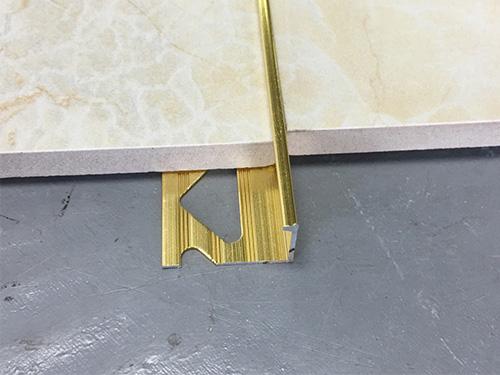 aluminum l shape tile trim yj d77