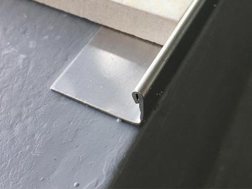 stainless steel l shape tile corner