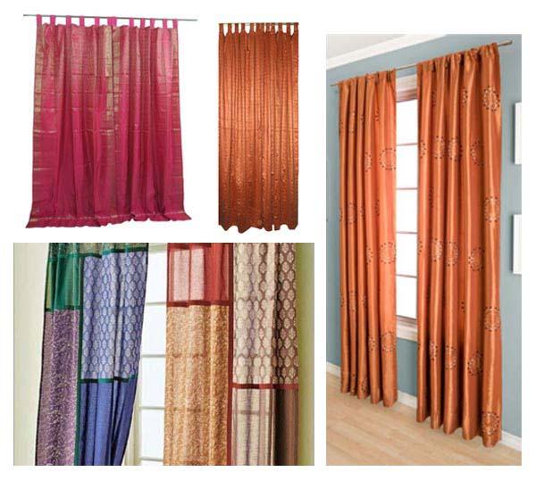 Terracotta Curtain Panels : Terracotta living room curtains conceptstructuresllc