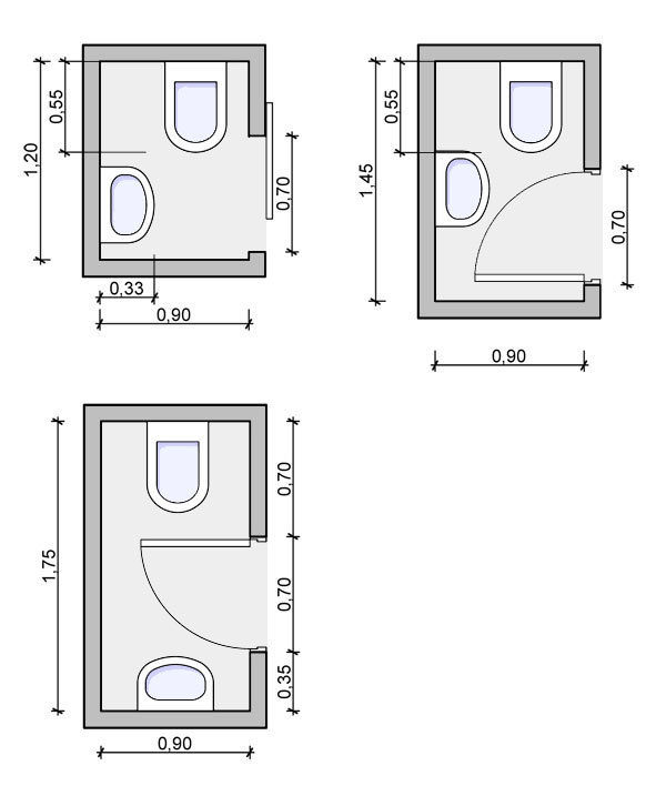 half bath floorplan, powder room floorplan
