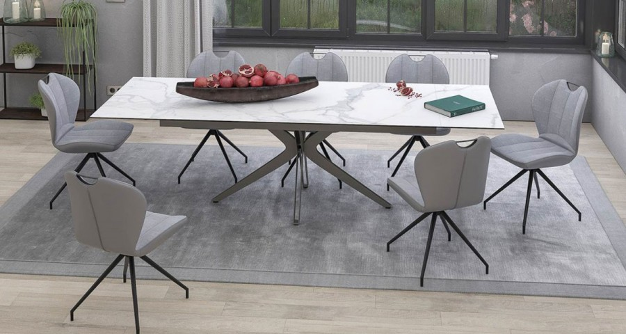 table xl extensible en ceramique eloquence 4 coloris