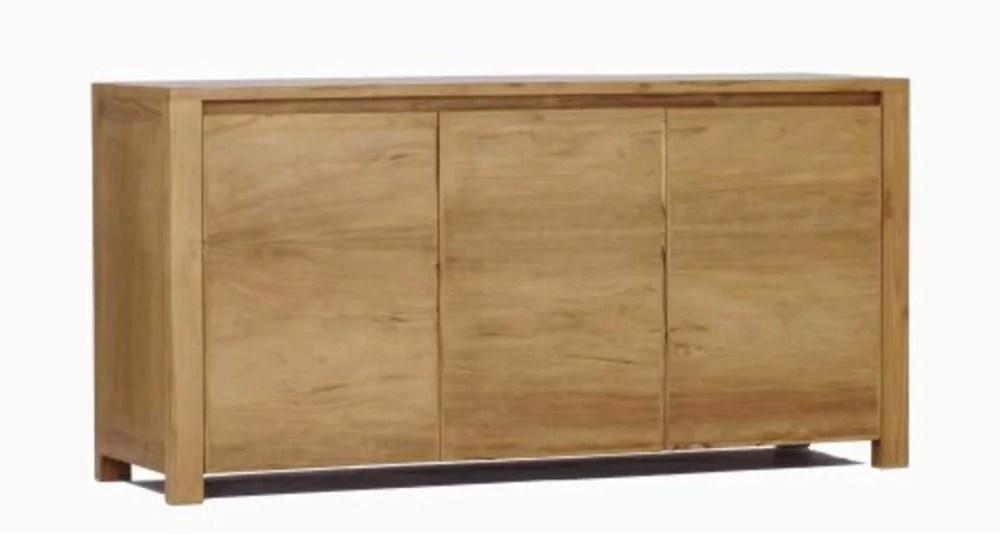 meuble buffet 150 cm en teck massif mayline